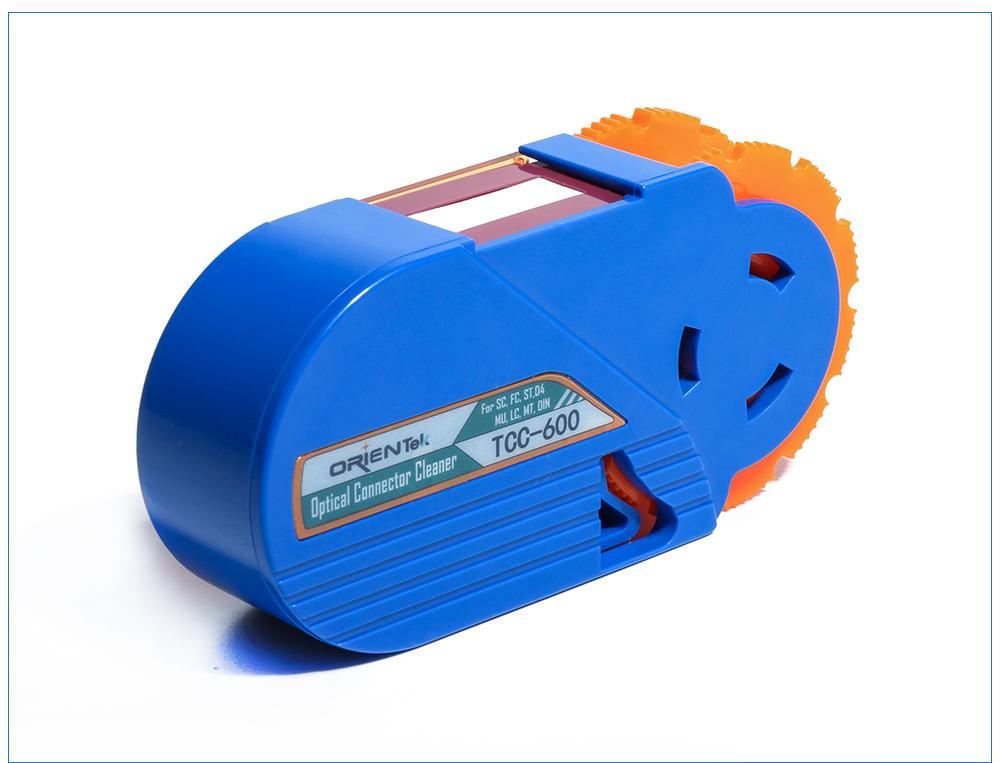 ORIENTEK TCC-600 Устройство для очистки оптоволоконных разъемов Инструмент для очистки оптических кассет